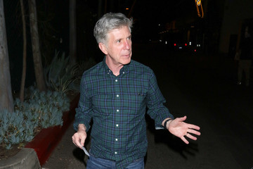 Tom Bergeron Celebrities Are Seen at The Grove in Los Angeles