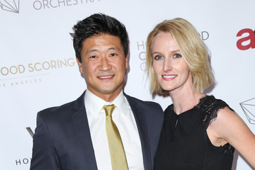 Tom Choi Celebrities Attend the Hollywood Chamber Orchestra Debut Performance