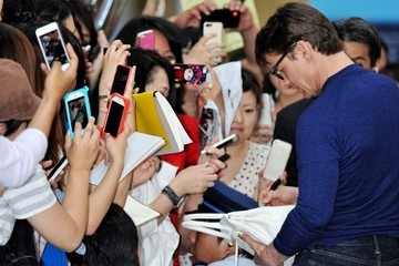 Tom Cruise Tom Cruise Arrives in Osaka