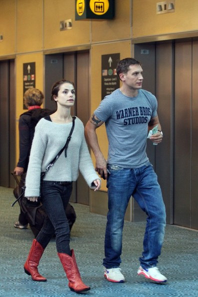 in this photo tom hardy charlotte riley uk actor tom hardy and