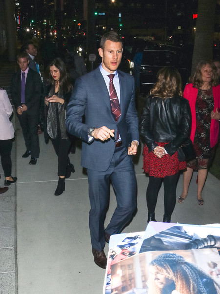 Tom Hopper Outside NeueHouse In Hollywood