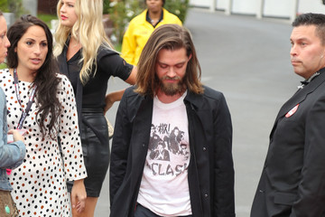 Tom Payne 'Talking Dead Live' For the Premiere of 'The Walking Dead'