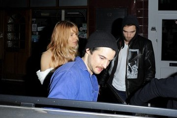 Tom Sturridge Sienna Miller Throws Tom Sturridge a Party