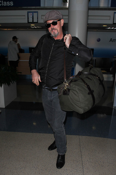 Tommy Flanagan is Seen at LAX