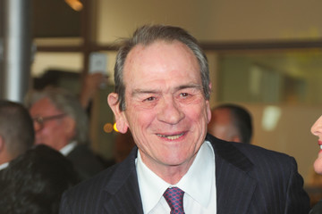 Tommy Lee Jones Tommy Lee Jones Outside ArcLight Theatre in Hollywood