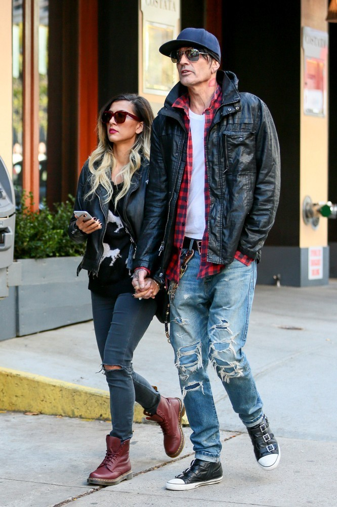 Tommy Lee and Sofia Toufa Photos Photos - Tommy Lee and