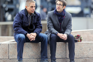 Tony Danza Tony Danza on the Movie set of Netflix's 'The Good Cop'
