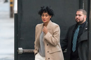 Tracee Ellis Ross at 'Kimmel'..