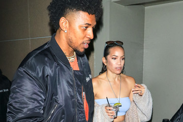 Tracy Jernagin Nick Young oOtside Lucky Strike Bowling