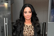 Tulisa Contostavlos Arrives at Capital Radio — Part 2