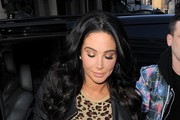 Tulisa Contostavlos Arrives at Capital Radio