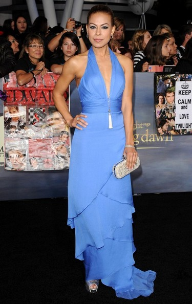 """World Premiere of """"The Twilight Saga: Breaking Dawn - Part 2""""..Nokia Theatre L.A. Live, Los Angeles, CA..November 12, 2012..Job: 121112A1..(Photo by Axelle Woussen)..Pictured: Toni Trucks."""