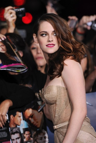 """World Premiere of """"The Twilight Saga: Breaking Dawn - Part 2""""..Nokia Theatre L.A. Live, Los Angeles, CA..November 12, 2012..Job: 121112A1..(Photo by Axelle Woussen)..Pictured: Kristen Stewart."""