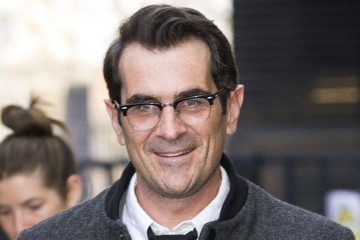 Ty Burrell Ty Burrell Arrives at the ITV studios