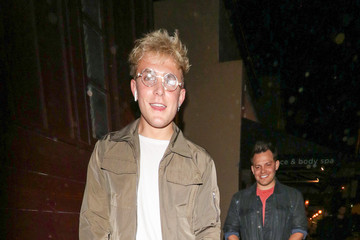Tydus Talbott Jake Paul Outside Peppermint Nightclub In West Hollywood