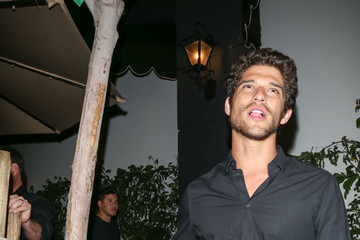 Tyler Posey Celebrity Sightings Outside TAO Restaurant in Hollywood