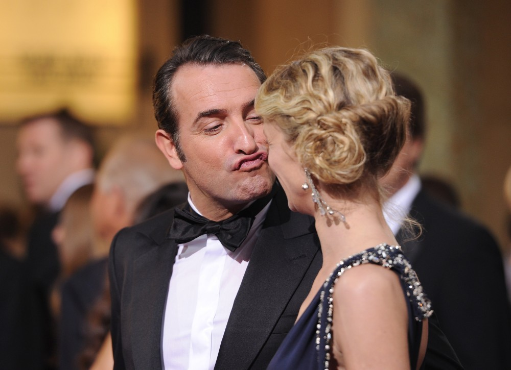 Alexandra lamy and jean dujardin photos photos zimbio for Age jean dujardin