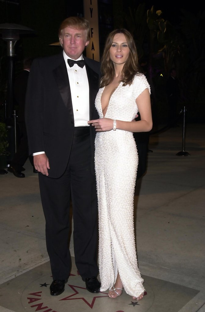 carla bruni and donald trump relationship
