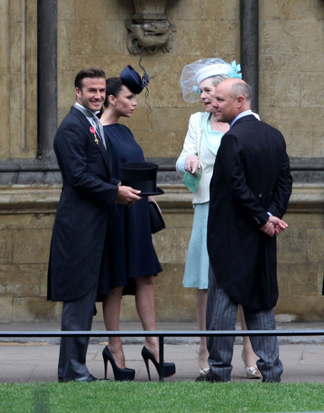 victoria beckham royal wedding. The Royal Wedding: Guests
