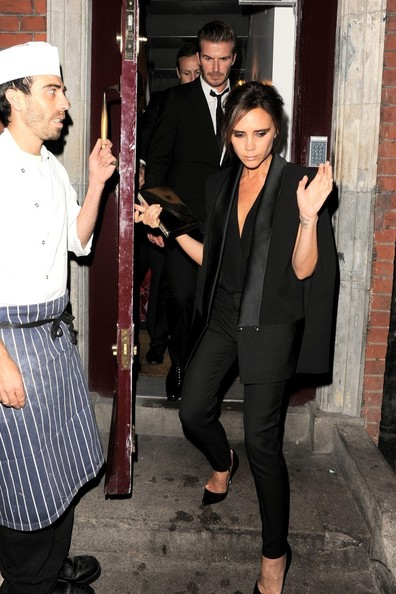 Victoria Beckham - Celebs Spotted at LouLou's in Mayfair — Part 2