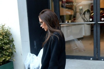 Victoria Beckham Victoria Beckham Leaves Her NYC Office
