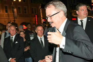 Vince Gilligan Vince Gilligan Outside Dolby Theatre In Hollywood
