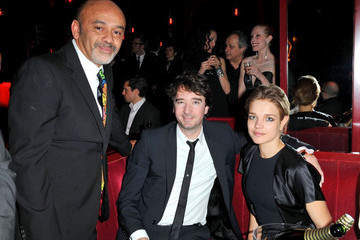 Natalia Vodianova Bernard Arnault Celebs at the 'Crazy Horse' Opening