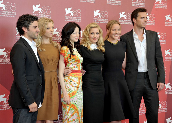 Photocall for Madonna's  'W.E' at the 68th Annual Venice Film Festival.