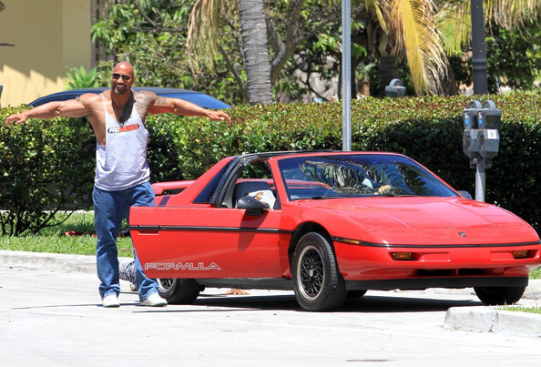 Dwayne The Rock Johnson Car