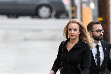 Wendi McLendon-Covey Celebrities Are Seen at 'Jimmy Kimmel Live'