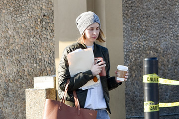 Whitney Port Whitney Port out and about..