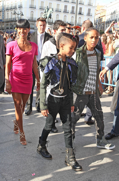pics of will smith and family. Will Smith and Family at a