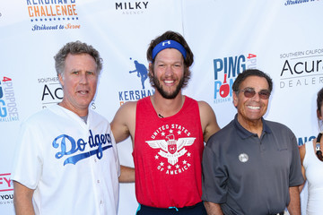 Will Ferrell Clayton Kershaw's 4th Annual Ping Pong 4 Purpose Celebrity Tournament at Dodger Stadium
