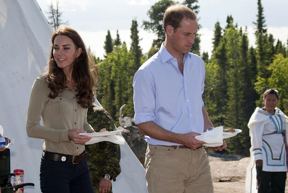 Prince+William in Prince William and Kate Middleton at a Canadian Rangers Station