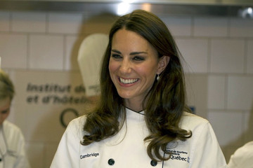 Will and Kate get cooking