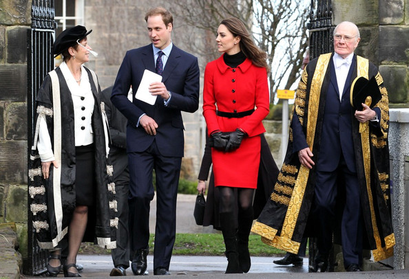 prince william visits st andrews. Prince William and Kate