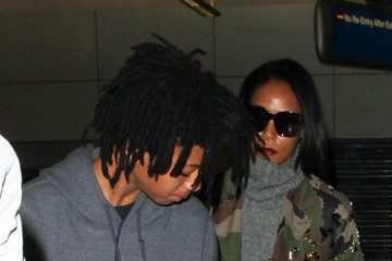 Willow Smith Jada Pinkett and Willow Smith Are Seen at LAX
