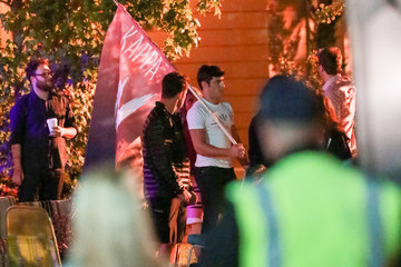 Zac Efron Stars on the Set of 'Neighbors 2'