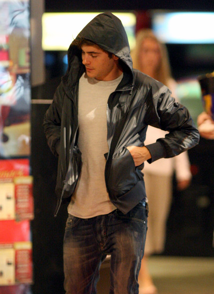 Zac Efron at the Arcade