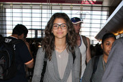 Zendaya Coleman Strolls Through LAX
