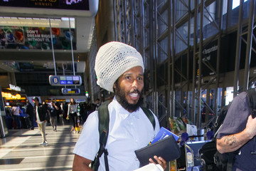 Ziggy Marley Ziggy Marley Enters LAX