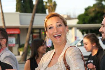 Zoe Bell Zoe Bell Steps Outside the Ahrya Fine Arts Movie Theater