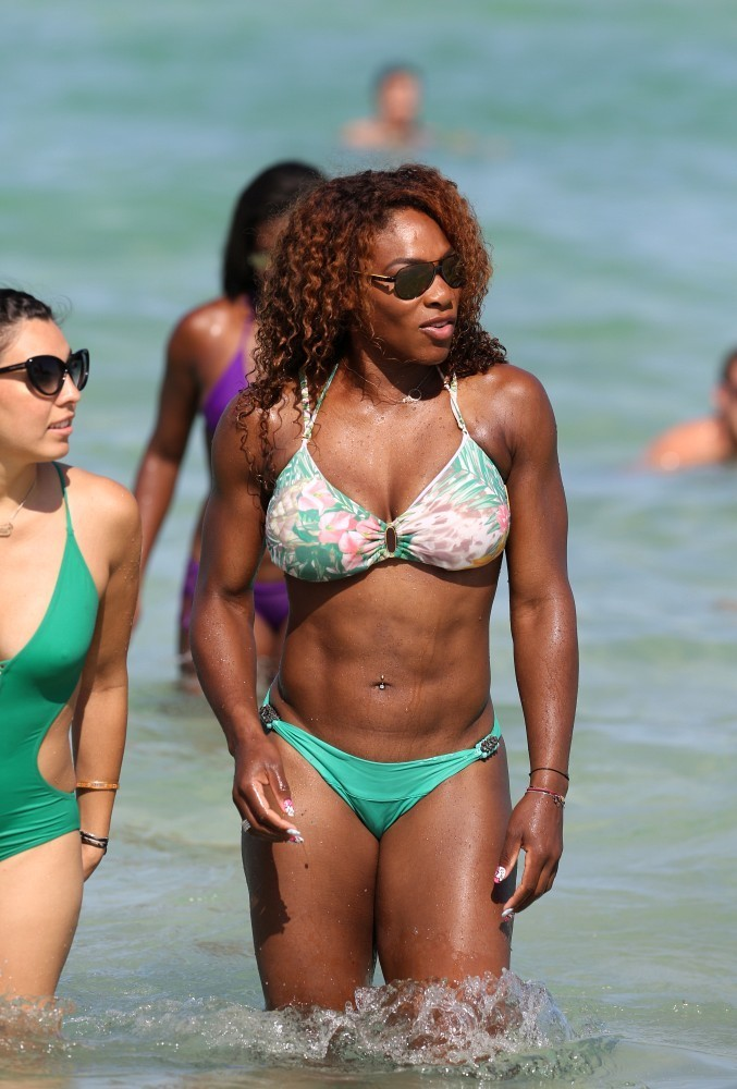 Las fotos en bikini de la campeona Serena Williams