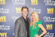 Slade Smiley and Gretchen Rossi are seen arriving at WE tv's Real Love: Relationship Reality TV's Past, Present & Future event at The Paley Center for Media in Los Angeles, California.