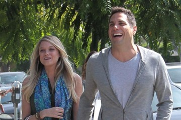 Abbey Wilson Mario Lopez and His Family Visit Bel Bambini