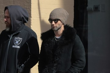 Adam Levine Adam Levine Out And About In NYC