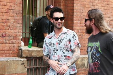 Adam Levine Adam Levine Out For A Stroll In NYC