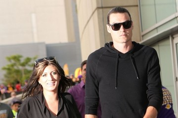 Adam Morrison Celebrities Attend Kobe Bryant's Last Game as a LA Laker