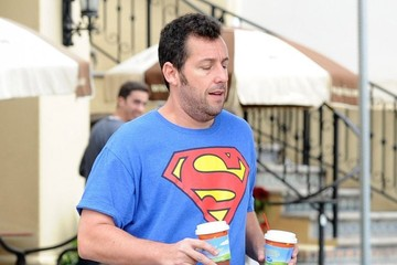 Adam Sandler Adam Sandler Gets Coffee in Brentwood