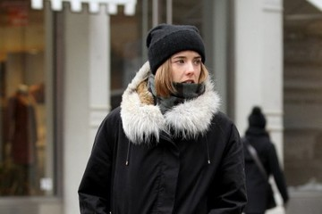 Agyness Deyn Agyness Deyn Out And About In NYC